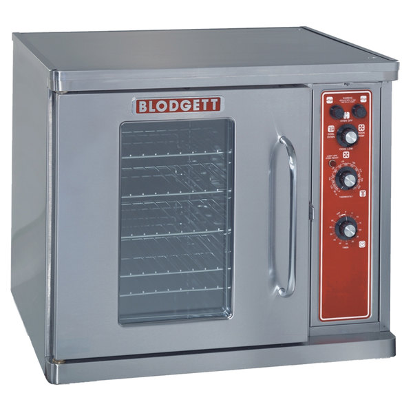 Blodgett CTB Premium Series Replacement Base Unit Half Size Electric Convection Oven with Left-Hinged Door - 208V, 3 Phase, 5.6 kW Main Image 1