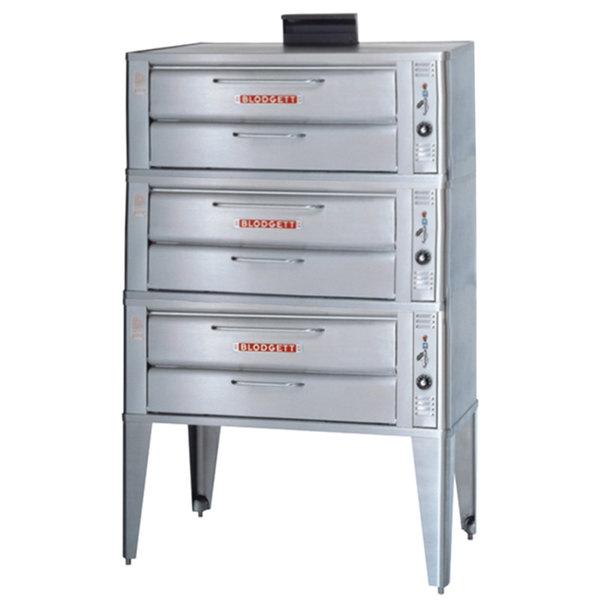 Blodgett 961 Liquid Propane Triple Deck Oven with Draft Diverter - 111,000 BTU