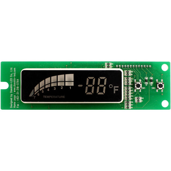 Turbo Air G8F5409200 PCB Board with Built-in Display