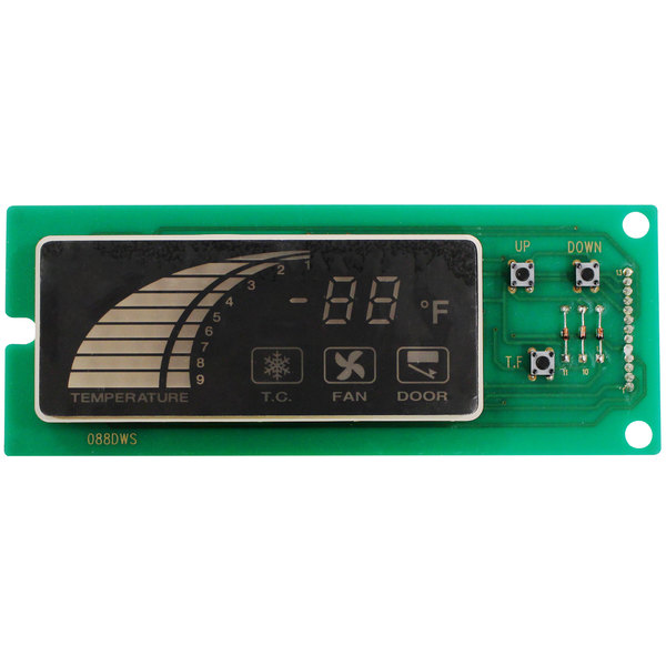 Turbo Air 30243Q0100 PCB Board with Built-in Display Main Image 1