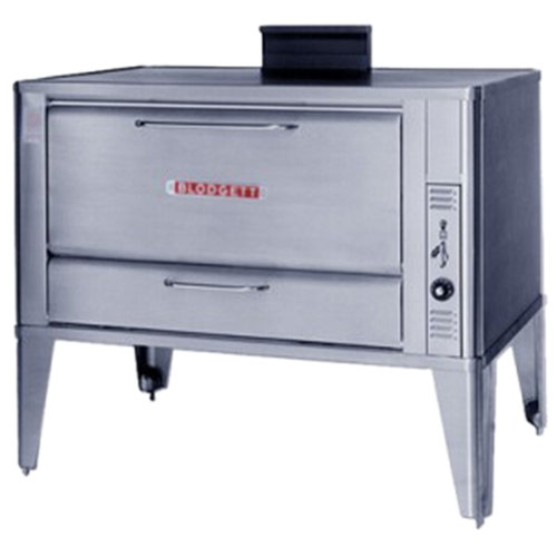 Blodgett 966 Natural Gas Single Deck Oven with Draft Diverter - 50,000 BTU