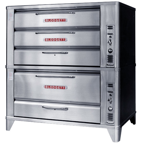 Blodgett 981/951 Natural Gas Double Deck Oven with Vent Kit - 88,000 BTU Main Image 1