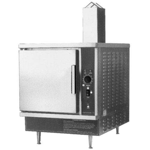 Blodgett SN-5G Liquid Propane 5 Pan Countertop Steamer with Atmospheric Steam Generator - 45,000 BTU