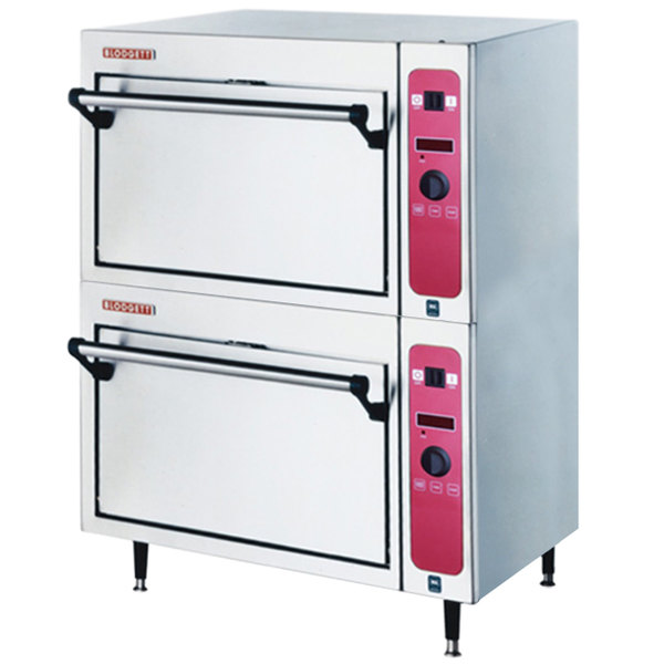 Blodgett 1415 Electric Countertop Double Deck Oven - 220-240V, 3 Phase, 7.5 kW Main Image 1
