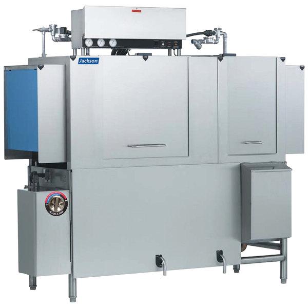 Jackson AJX-66 Vision Conveyor Low Temperature Dishwasher - Left to Right, 208V, 3 Phase
