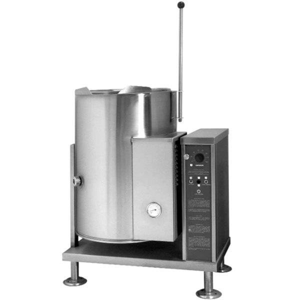 Blodgett KLT-12G Liquid Propane 12 Gallon Tilting Quad-Leg Gas Steam Jacketed Kettle - 43,000 BTU Main Image 1