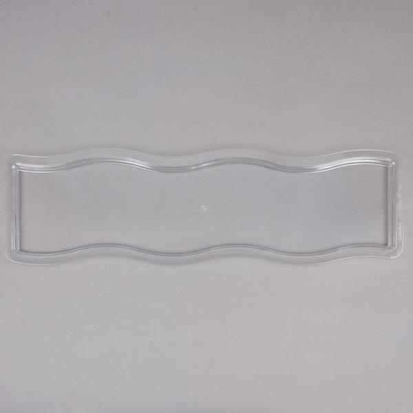 Carlisle 6982l07 Modular Displayware 1 2 Size Long Clear Lid
