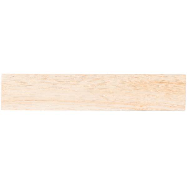 "Mercer Culinary M30730RW 12"" Rubberwood Magnetic Knife Holder / Strip Main Image 1"