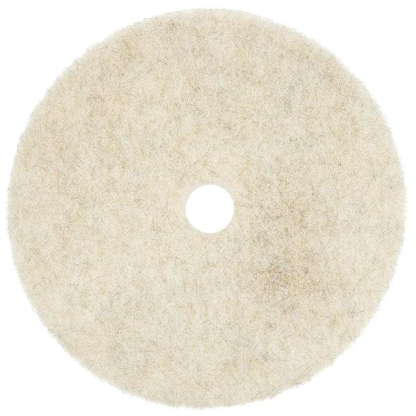 "Scrubble by ACS 35-27 Type 35 27"" Hair Blend Medium Burnishing Floor Pad - 2/Case"