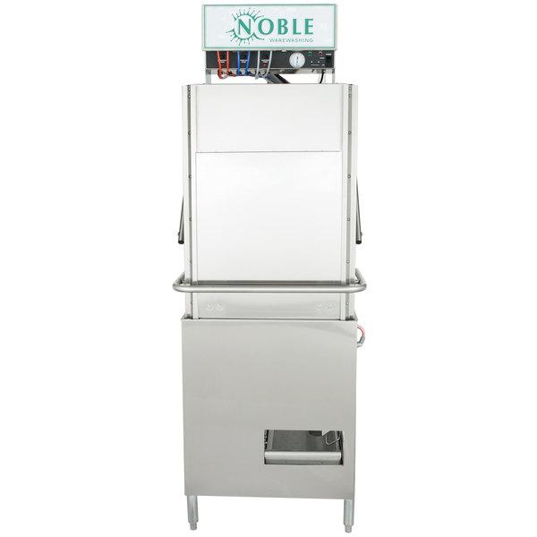Noble Warewashing 1-HH-NO Low Temperature Tall Door Type Dish Machine - 115V