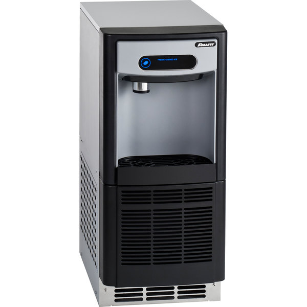 """Follett 7UC100A-NW-NF-ST-00 7 Series 14 5/8"""" Air Cooled Chewblet Undercounter Ice Maker and Dispenser - 7 lb."""