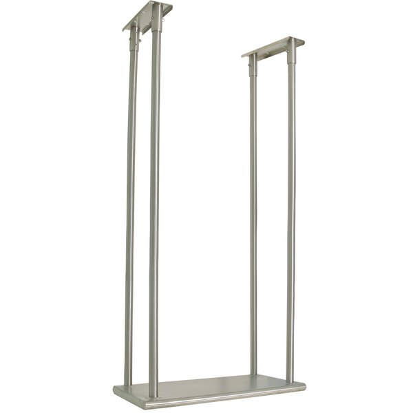 """Advance Tabco CM-18-72 Stainless Steel Ceiling Mounted Single Shelf - 18"""" x 72"""""""