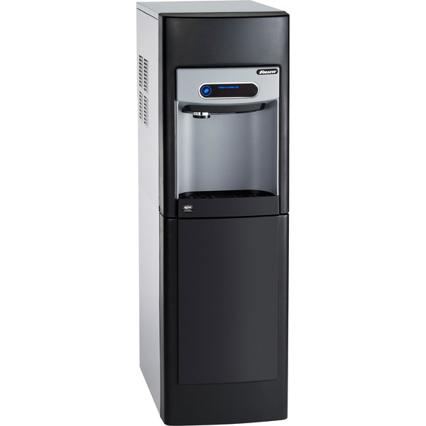 """Follett 15FS100A-NW-CF-ST-00 15 Series 14 5/8"""" Air Cooled Chewblet Free Standing Ice Maker and Dispenser with Filter - 15 lb."""