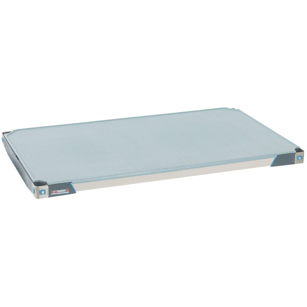"Metro MX2430F MetroMax i Polymer Shelf with Solid Mat - 24"" x 30"""