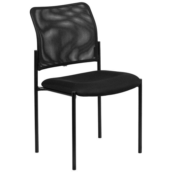 Flash Furniture GO-515-2-GG Black Mesh Comfortable Stackable Steel Side Chair  sc 1 st  WebstaurantStore & Flash Furniture GO-515-2-GG Black Mesh Comfortable Stackable Steel ...