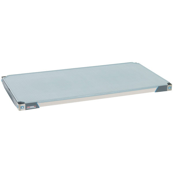 "Metro MX2454F MetroMax i Polymer Shelf with Solid Mat - 24"" x 54"" Main Image 1"