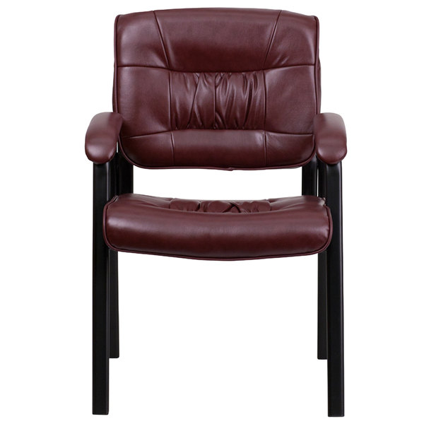 Wondrous Flash Furniture Bt 1404 Burg Gg Burgundy Leather Executive Side Chair With Black Frame Finish Pdpeps Interior Chair Design Pdpepsorg