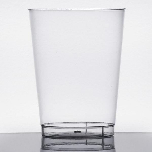 Choice 10 oz. Clear Hard Plastic Tumbler - 500/Case