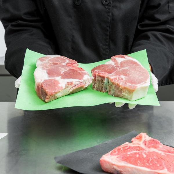 "9"" x 12"" 40# GreenTreat® Steak Paper Sheets - 1000/Case"