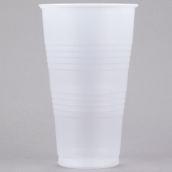 Dart Y32 Conex Galaxy 32 oz. Translucent Plastic Cold Cup - 500/Case Main Image 1