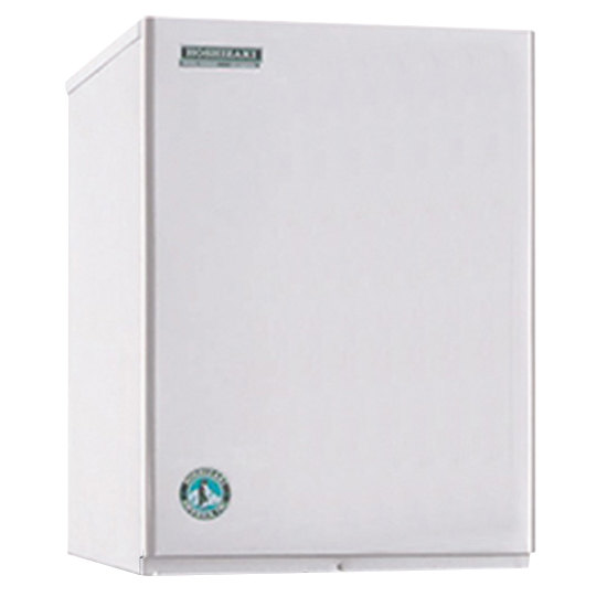 "Hoshizaki KM-340MWH Slim Line Series 22"" Water Cooled Crescent Cube Ice Machine - 386 lb."