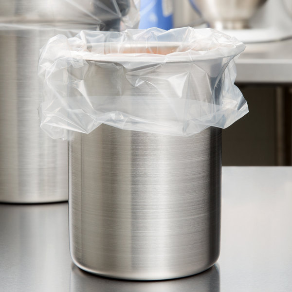 2 Qt. Round Nylon Pan Liner - 100/Box