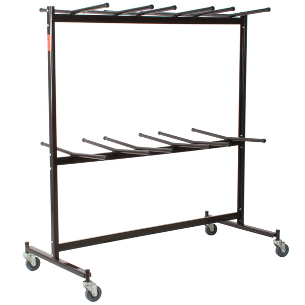 National Public Seating 84 Folding Chair Dolly Main Image 1