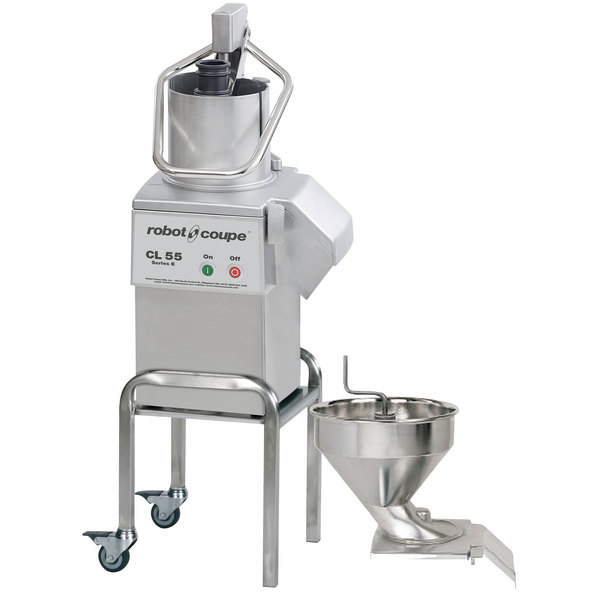 Robot Coupe CL55 Bulk Feed / Pusher Food Processor - 2 1/2 hp Main Image 1