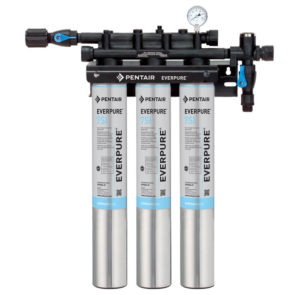 Everpure EV9324-74 Insurice Triple 7SI Water Filtration System - .5 Micron and 10.5 GPM