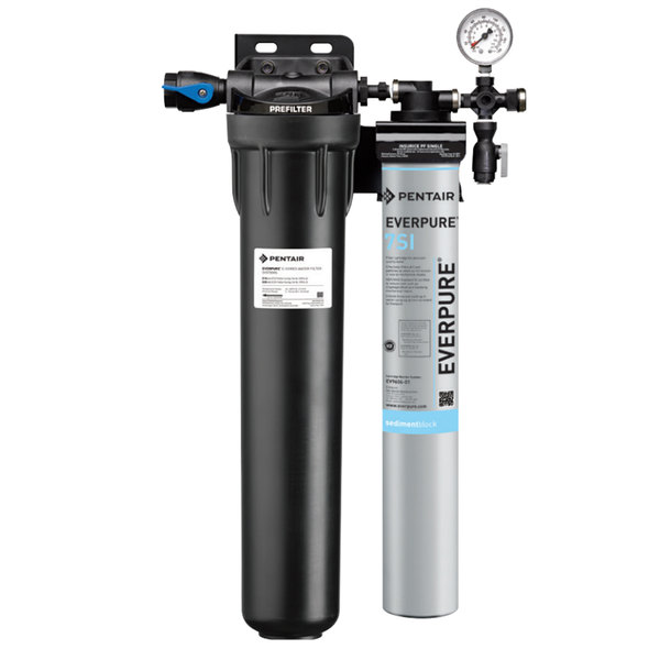 Everpure Ev9324 71 Insurice Single Pf 7si Water Filtration System With Pre Filter 5 Micron And 3 5 Gpm