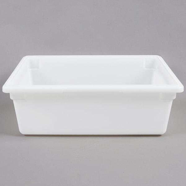 Carlisle 1064202 StorPlus 26 inch x 18 inch x 9 inch White Food Storage Box