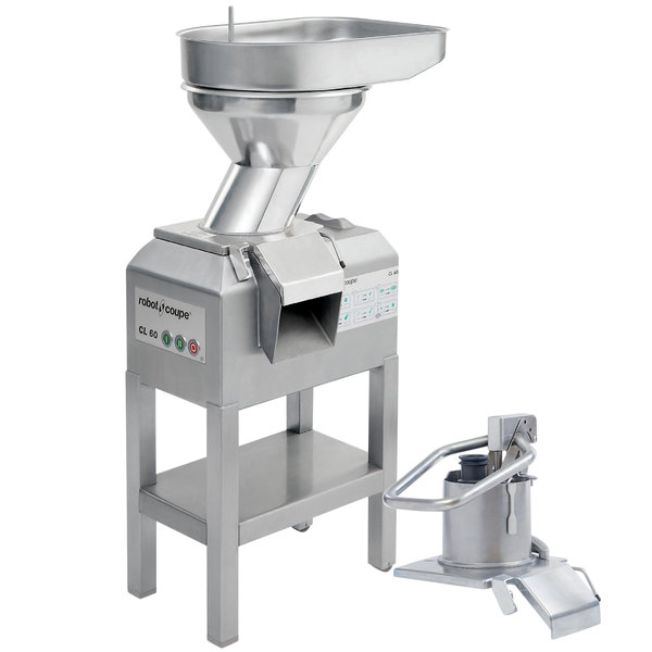 Robot Coupe CL60 Bulk Feed / Pusher Food Processor - 3 hp