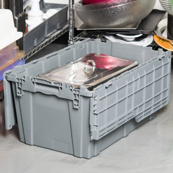 "25"" x 15"" x 12"" Gray Chafer / Storage Box"