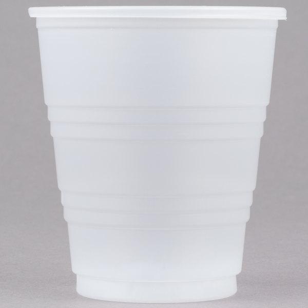 Dart Y5 Conex Galaxy 5 oz. Translucent Plastic Cold Cup - 100/Pack