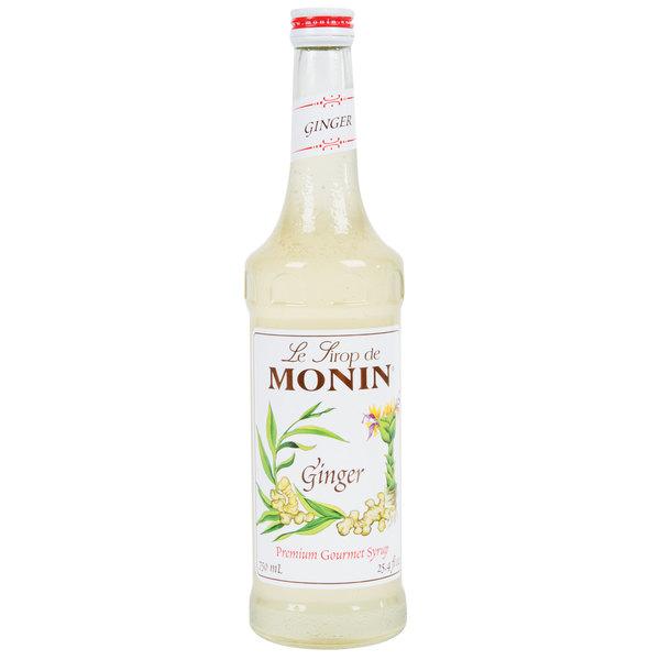 Monin 750 mL Premium Ginger Flavoring Syrup