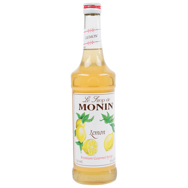 fb900c97cee28 Monin 750 mL Premium Lemon Flavoring / Fruit Syrup