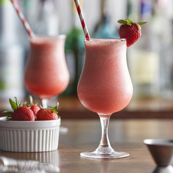 Monin 1 Liter Strawberry Fruit Puree Main Image 2
