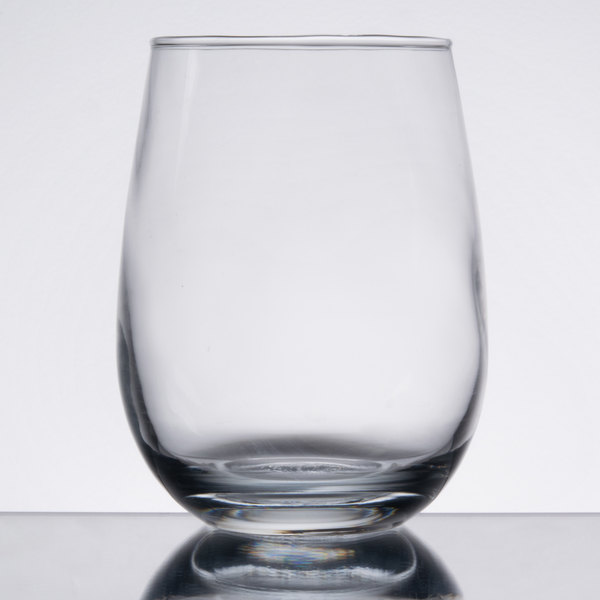 enjoy a delicious glass of red or white wine in this core 15 oz stemless wine glass