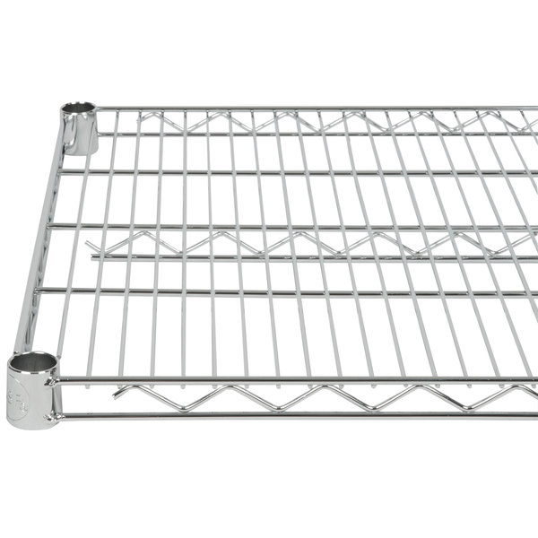 Regency 24 inch x 30 inch NSF Chrome Wire Shelf
