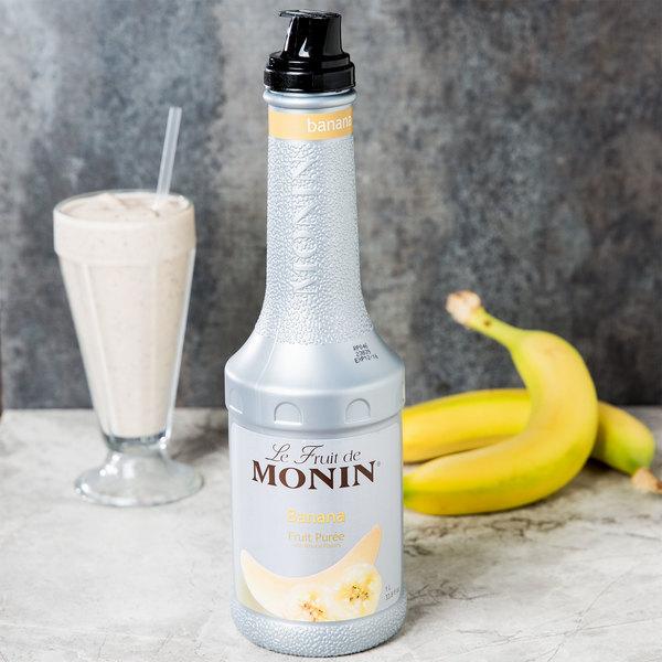 Monin 1 Liter Banana Fruit Puree