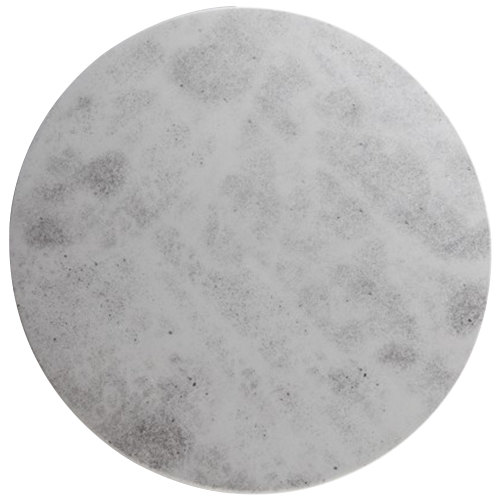 """Cal-Mil 3502-12-77 12"""" Round Faux Cement Serving Board"""
