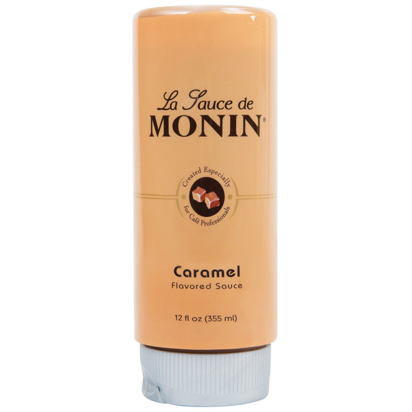 Monin 12 oz. Caramel Flavoring Sauce