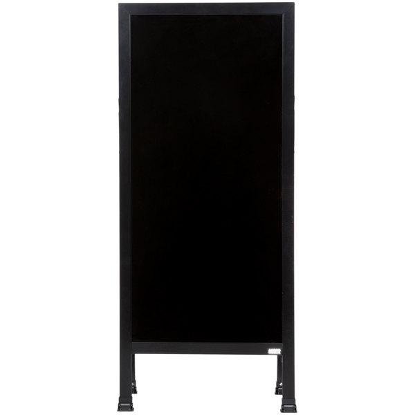 Aarco Ba 311 42 Quot X 18 Quot Black Aluminum A Frame Sign Board