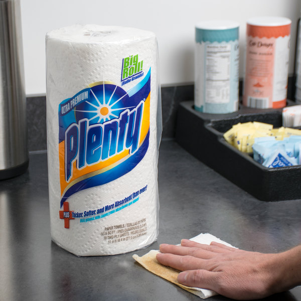 Plenty 2-Ply Ultra Premium Paper Towels