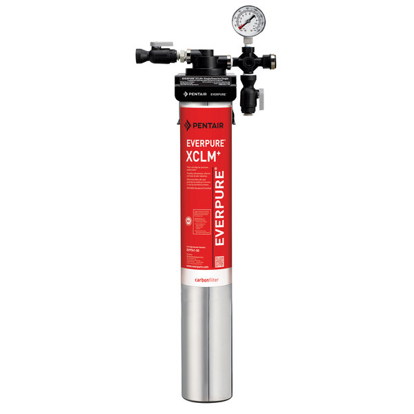Everpure EV9761-11 QC7I Single-XCLM+ Water Filtration System - 5 Micron and 2/1.67/1 GPM