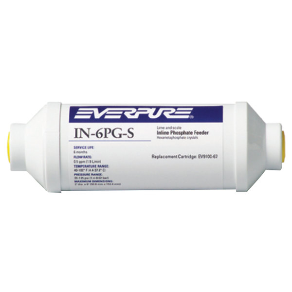 Everpure EV9100-67 IN-6-PG-S In-Line Scale Inhibitor System - .5 GPM