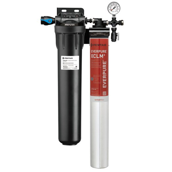 Everpure EV9761-21 Coldrink 1-XCLM+ Water Filtration System with Pre-Filter - 5 Micron and 2/1.67/1 GPM Main Image 1
