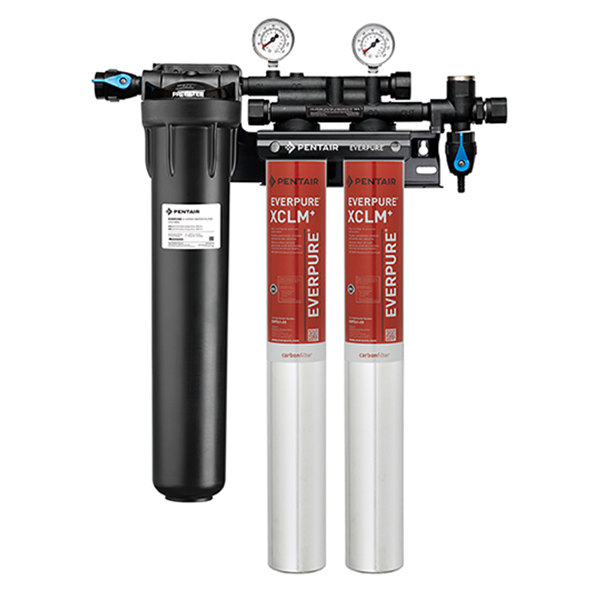 Everpure EV9771-22 Coldrink 2-7CLM+ Water Filtration System with Pre-Filter - 5 Micron and 3.34/2.66/2 GPM