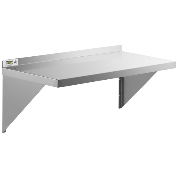 """24/"""" Stainless Steel Magnetic Mount Convenience Shelf"""