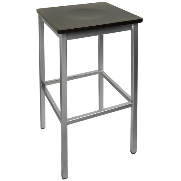 BFM Seating 2510BBLW-SV Trent Silver Metal Barstool with Black Wood Seat  sc 1 st  Webstaurant Store & Seating 2510BBLW-SV Trent Silver Metal Barstool with Black Wood Seat islam-shia.org